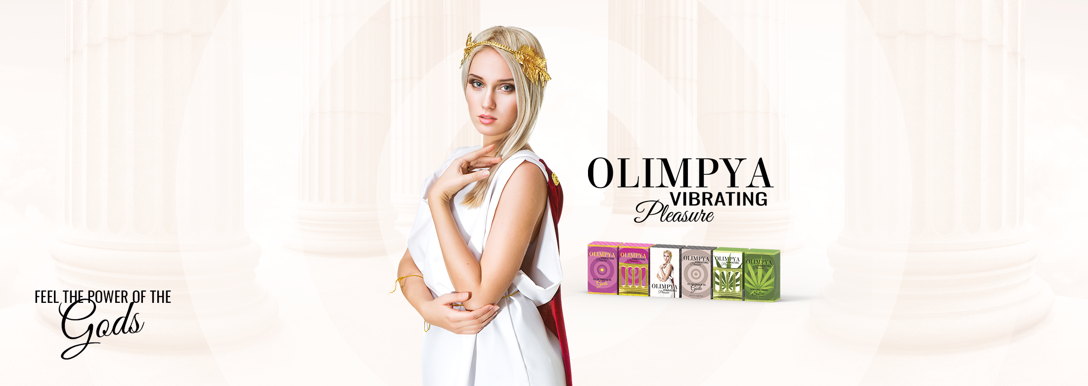 OLIMPYA VIBRATING PLEASURE POTENTE INTENSIFICADOR